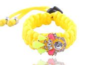 New 2014 Fashion water drop crystal shourouk Wristband , Shourouk Style Handmade statement bracelet for Women
