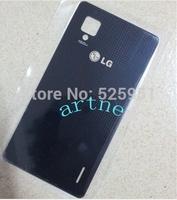 Brand new  Back  housing case Battery door  glass  For  for LG Optimus G E973 E975,HK post free shipping
