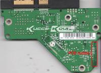 WD HDD PCB circuit board 2060-701444-004 REV A for 3.5 SATA hard drive