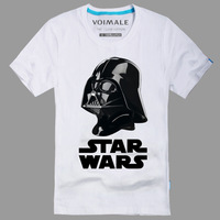 STAR WARS Darth Vader Cotton Short Sleeve O-Neck Summer Casual Men's T-shirt 2014 Fashion Male Tops Tee Camisetas Masculinas