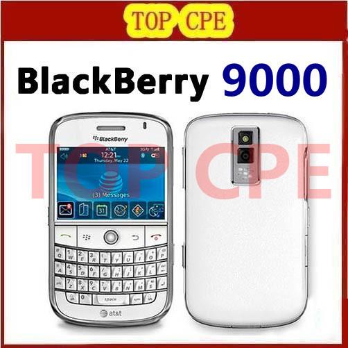 Bold 9000,unlocked original Blackberry 9000 mobile phone 3G wifi GPS Free shipping Refurbished(China (Mainland))