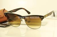 2014 Hotsale Unisex best quality UV400 mens brand sunglasses rb men women sunglass 4175 877/51 Tortoise /w brown gradient 5.7mm
