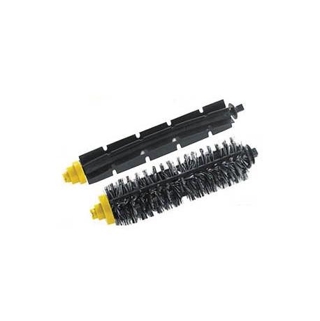 Frete grátis 10 pares ( 20 peças ) + escova de cerdas flexíveis batedor Escova para iRobot Roomba 600 630 700 760 770 780 Series 790(China (Mainland))