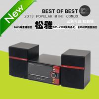 2014 mini audio system radio dvd cd usb speaker electrical appliances speaker