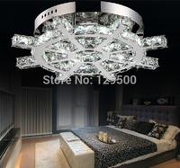 2014 creative design chrome promotion  surface modern LED lights L470*w470MM,contemporary  art crystal chandelier lights