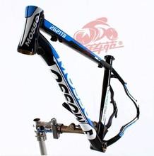 """novo mosso 2621 alumínio ultraleve liga quadro da bicicleta de montanha, 16"""" 17"""" 18"""" 19"""" preto branco vermelho quadro de bicicleta de estrada frete grátis(China (Mainland))"""