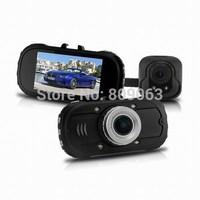 "NEW C6000B 2.7"" Allwinner A10 Dual Camera Full HD 1080P with G-sensor+Night Vision+Rear Camera 720P Car Recorder dash Camera"