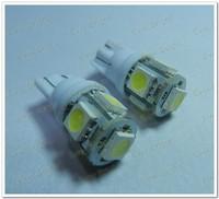 wholesale 3000 Pcs T10 5050 194 168 W5W 5SMD 5 Led Lights Led Clearance Lamps  sale