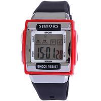 Fashion Watch digital sport alarm stopwatch fucntion swim dive 3ATM shock resist silicone christmas gift for  unisex