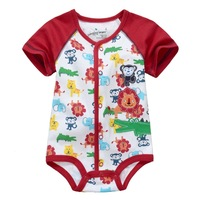 Brand tiger baby romper short sleeve 100% cotton  tiger  infants bodysuits wear jumpsuits for free shipping