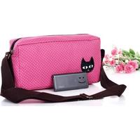 Outdoor shoulder bag casual bags small women's cross-body handbag customize canvas bag