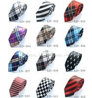 Mix Wholesale Fashion Casual Preppy Style Neck Tie Scottish Plaid Striped Leopard Skull Printed Bow Tie School Uniform Necktie