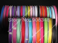 1/2'' 13mm 100% polyester plain solid color grosgrain ribbon for gift Hair bows garments DIY Accessories 236 colors