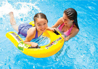 INTEX 58167 genuine children kick board inflatable floating row