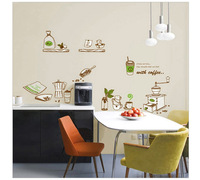 Removable Kitchen Wall Stickers & Window Decals Sticker for Home Decor Kitchen wallpaper Free Shipping
