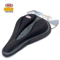 Sss bicycle seat cover mountain bike silica gel seat cover road bike seat cover