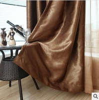 hot sale new 2014 top grade luxury pleuche window curtain  living room thick  draperies solid  home decor wholesale freeshipping