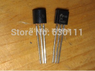 Free shipping 2N5460 JFET P-Channel 40V 350MW TO-92 Silicon Transistor 100PCS/lot Triode Power Transistor bag(China (Mainland))