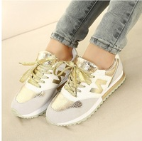 2014 Spring New Heavy-bottomed Muffin Singles sport Shoes Running Shoes Burst Crack Casual Shoes Sneakers Women