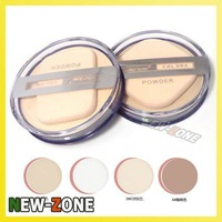 (Minimum Order 10$) MH Clear Smoonth Makeup Face Pressed Powder Foundation Moist Dry&Wet Use Compact powder foundation
