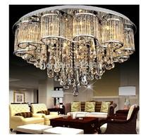 "Free Shipping 50CM (19.7"") Diameter K9 crystal ceiling light bedroom lamp living room lights Top Crystal Ceiling lighting"