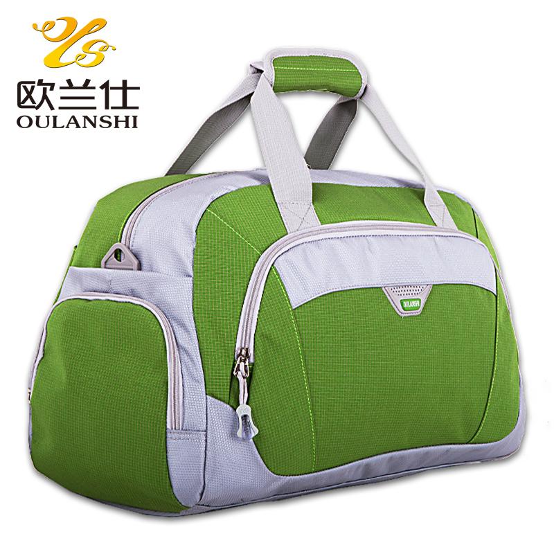 Sac de voyage portable 2014 femelle, bagages. mâle. grande capacité une épaule sac voyage bagages en nylon sacs polochons voyage de sport pour hommes