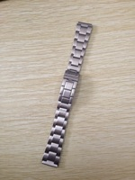 10pcs Stainless Steel Watchband 18MM B-3s Watch Band Strap