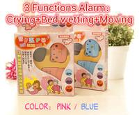 N001 Wholesale!Wireless Baby Bed wetting Enuresis Sound Moving Alarm 2 colors