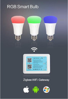 free shipping Hue RGB smart bulb, 16,000,000 colors(RGB light) ,Good qualtiy,nice price