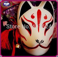 Free shipping Fox mask Halloween Animal head costume Carnival mask Japanese Style