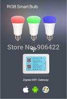 free shipping 2013 China hue bulb RGB led,newly designed intelligent led light bulb
