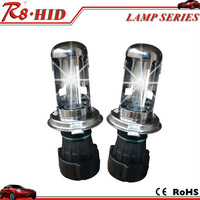 12V 35W H4 Hi Lo HID Xenon Lamp H4-3 High Low Replacement Xenon Bulb 3000K-12000K with no relay harness