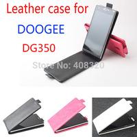 New Arrival!! Original Up-Down Flip PU Leather Case For Doogee Pixels DG350, Doogee DG350 Case,Free Shipping