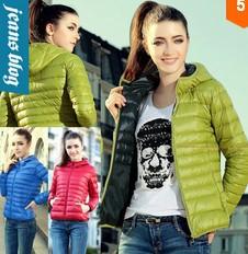 Женские пуховики, Куртки SJ306 женские куртки от производителя