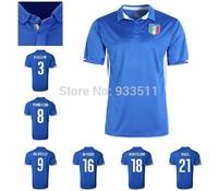 2014 World Cup Italy Thai version soccer jerseys 2014 Italy home jerseys