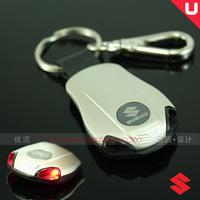 Free shipping Suzuki with lamp series of car key ring/buckle dipper / / autoart/swift/villa, antelope Christmas
