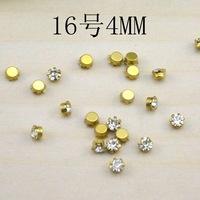 150pcs/lot sewing accessories rhinestones size 4mm