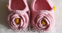 2014 new baby boy/girl Sandals Lovely Flowers Baby Shoes exclusive custom models of child Shoes pink free shipping