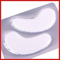 super fashionable ChinaStock 1 5 10 25 Pair Eyelash Extensions Lint Free Under Eye Gel Pad Patch Save up to 50% Limited Sales!
