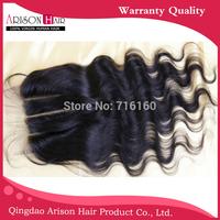 Brazilian Virgin Hair 3 Way Part Swiss Lace Hair Closure 5x5 Bleached Knots,Virgin Human Hair Body Wave Hair Piece
