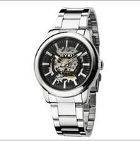 2014 EYKI new brand dress mechanical watch, tourbillon leather strap Casual watches,men fashion sports watch