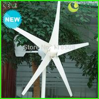 Wind Turbine Generator NE-300M, 300W 12/24V 3/5 Blades Three Phase AC Permanent Magnet Generator, CE RoHS ISO9001 Certificates