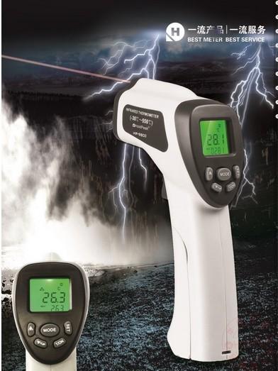 Berührungslosen lcd laserpistole infrared ir digitales elektronischen industrie thermometer temperaturmessgerät Manometer(- 30 c zu 550 c)