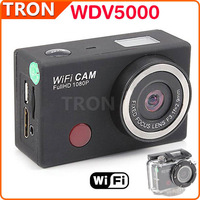 WDV5000 HD Camera Sports DV Action Camera mini camcorders 5.0MP CMOS 4X Digital Zoom Outdoor Waterproof  WiFi