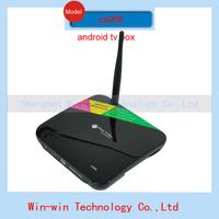 New CS968 Android TV Box Quad Core Smart TV Receiver Webcam Microphone RK3188 2G/8G HDMI AV USB RJ45 OTG WiFi Mini PC