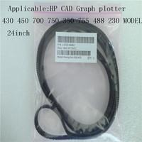 CAD Printer  Graph plotter Belt 24inch  Designjet HP430 450 700 750 350 230 488 455 755