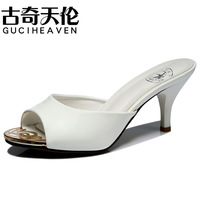 Free shipping Guciheaven 7987 high heel women slip-on shoes lady sandals leisure slippers women casual pumps