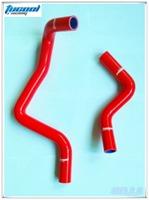Red Silicone Radiator Coolant Hose Kit for Civic EK EG SOHC Radiator Hose Kit 2pcs No. 1069 Free Shipping