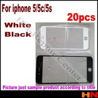 20pcs hot sale replacement screen fit for iphone 5 glass lens fit for iphone5 5g i phone 5 lcd touch screen