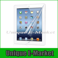 1 Pc/lot Crystal Clear HD LCD Screen Protector Film Guard Shield For For Apple iPad 2 iPad 3 iPad 4 With Retail Package